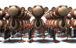 małpy pracy Zdjęcie Stock