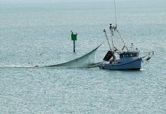 mały łódkowaty połów Obrazy Stock