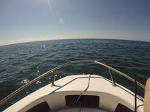 Mały łódkowaty widok Zdjęcie Royalty Free