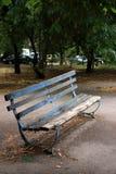 mały ławki parku Fotografia Royalty Free