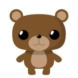 Mały śliczny niedźwiedź Zdjęcia Royalty Free