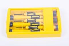 Mały śrubokrętu set Zdjęcie Stock