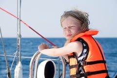 Mały żeglarz Fotografia Royalty Free