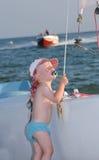 mały żeglarz zdjęcie royalty free