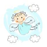 Mały anioł royalty ilustracja