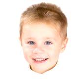 mały anioła portret fotografia stock
