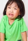 Mały Asain Chiński płacz Zdjęcie Royalty Free