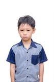 Mały Azjatycki chłopiec płacz Obrazy Royalty Free