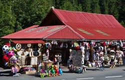 Mały bazar zdjęcia stock