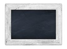 Mały biały chalkboard Obrazy Royalty Free