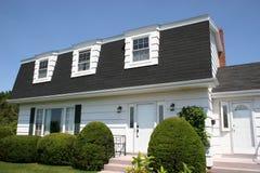 mały biały dom Zdjęcie Stock