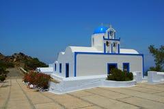 Mały biały kościół Zdjęcia Stock