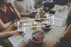 Mały Biznes firmy przedsiębiorcy nisza Cocnept zdjęcia stock