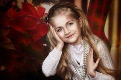 Mały boże narodzenie anioł Zdjęcie Stock