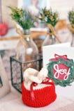 mały Boże Narodzenie prezent obrazy royalty free