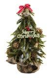 mały Bożego Narodzenia drzewo Zdjęcia Royalty Free