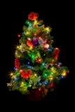 mały Bożego Narodzenia drzewo fotografia stock