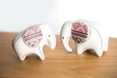 Mały ceramiczny słoń fotografia stock