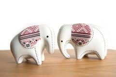 Mały ceramiczny słoń fotografia royalty free