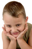 mały chłopiec Zdjęcie Stock