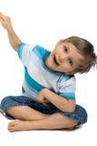 mały chłopiec Zdjęcie Royalty Free