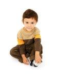 mały chłopiec Obraz Royalty Free