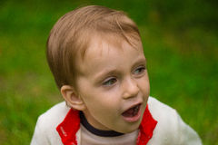 mały chłopiec Fotografia Royalty Free