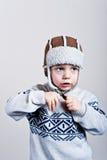 mały chłopiec Fotografia Stock