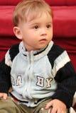 mały chłopiec blond dziecka zdjęcia royalty free