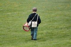 mały chłopiec dobosz Zdjęcia Royalty Free