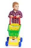 mały chłopiec grać Fotografia Royalty Free