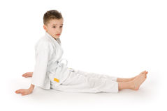 mały chłopiec kimono zdjęcia royalty free