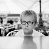 mały chłopiec portret Obraz Royalty Free