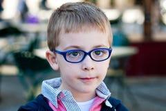mały chłopiec portret Zdjęcia Royalty Free