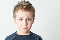 mały chłopiec portret Zdjęcie Royalty Free