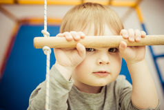 mały chłopiec portret Fotografia Royalty Free