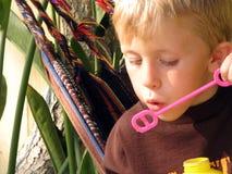 mały chłopiec portret Obrazy Royalty Free