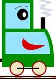 mały chłopiec serii pociąg Obraz Royalty Free