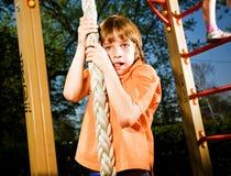 mały chłopiec spacer obrazy royalty free