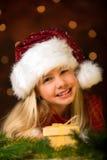 mały chybienie Santa obrazy stock