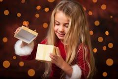mały chybienie Santa Fotografia Royalty Free