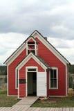 mały czerwony budynek szkoły Obrazy Stock