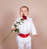 Mały dżentelmen Zdjęcia Stock