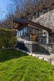 Mały dom, powierzchowność fotografia stock
