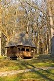 Mały drewniany dom Obrazy Royalty Free