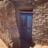Mały drzwi gubjący Obrazy Stock