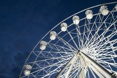 Mały Duży koło Przy nocą Fotografia Stock