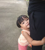 Mały dzieciak miłości rodzic Obrazy Stock