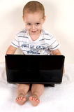 mały dziecko intelektualista fotografia royalty free
