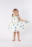 mały dziewczyna cukierki Zdjęcie Stock